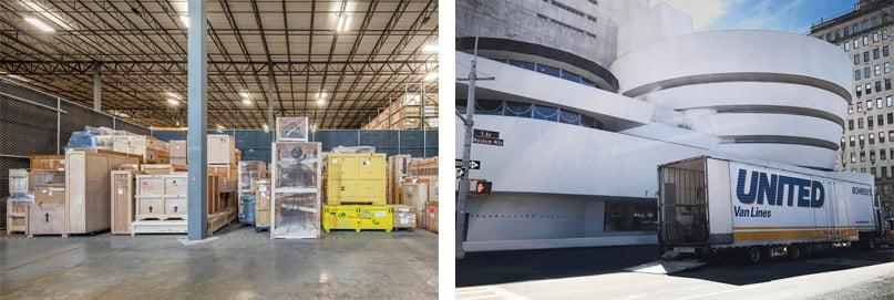 Bohrens Fine Art Transportation experts storage care
